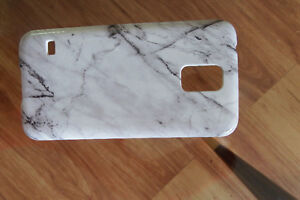 Galaxy S5 Marble Phone Case - NEVER USED