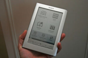 Sony Digital Book eReader PRS600 Touch Screen And MP3 Player