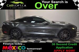 2015 Ford Mustang ECO BOOST RWD - LOW KMS**CRUISE**BLUETOOTH