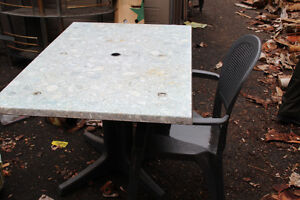 Grosfillex brand Patio tables and chairs