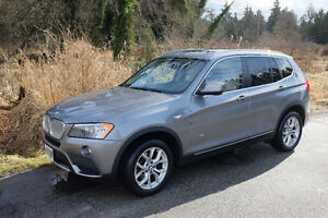 Price Reduction: 2011 BMW X3 XDrive28i SUV, Grey Exc Condition