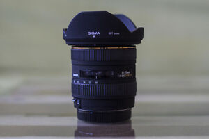Sigma 10-20mm F4-5.6 for Canon
