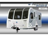 Bailey Pegasus Grande SE Messina, New 2021, 4 Berth, Touring Caravan