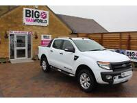 2016 FORD RANGER WILDTRAK 4X4 TDCI 197 DOUBLE CAB PICK UP DIESEL
