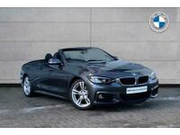 2019 BMW 4 Series 420d M Sport Convertible Convertible Diesel Automatic