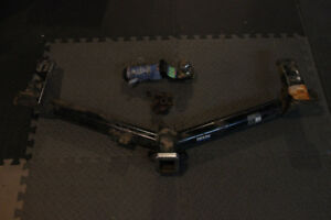 Reese Round Tube Trailer Hitch Receiver