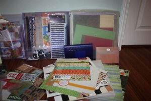 HUGE Collection of Scrapbooking Supplies FOR SALE Kitchener / Waterloo Kitchener Area image 6