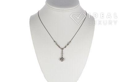 $52,000 Ladies Vintage Art Deco Platinum Diamond Necklace 3.25ctw