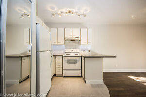High Park / Roncesvalles Apartment with Patio - RENOVATED