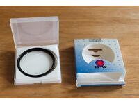 B+W UV-Haze filter 72mm with multi-resistant coating, in excellent condition, £25