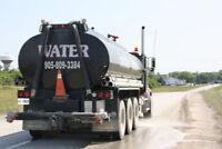 Water Truck/Road Flusher