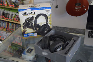 **GREAT DEAL* PS4 - CoD-AW Earforce Sentinal Task Force Headset