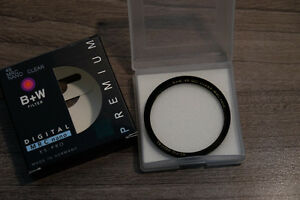 B+W 49mm XS-PRO Clear MRC NANO filter filtre made in Germany