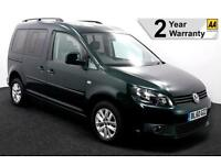 2011(60) VW CADDY 1.6 TDi LIFE PASSENGER UPFRONT AUTO WHEELCHAIR ACCESSIBLE