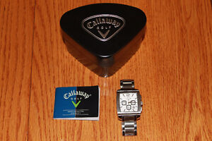 Callaway Stainless Steel Watch CY2094