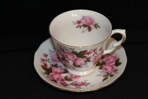 QUEEN ANNE TEA CUPS  & SAUCER'S