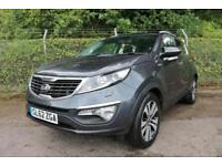 2012 Kia Sportage 2.0 KX 3 CRDi Turbo Diesel 4x4 5DR Auto 5 door Four Wheel ...