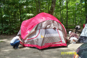 CAMPING EQUIPMENT TENT & STOVE