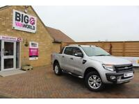 2015 FORD RANGER WILDTRAK 4X4 TDCI 197 DOUBLE CAB PICK UP DIESEL