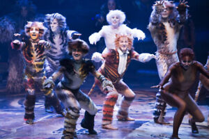 CATS - REAL FRONT ROW SEATS -NAC - MAR 11 AND 13