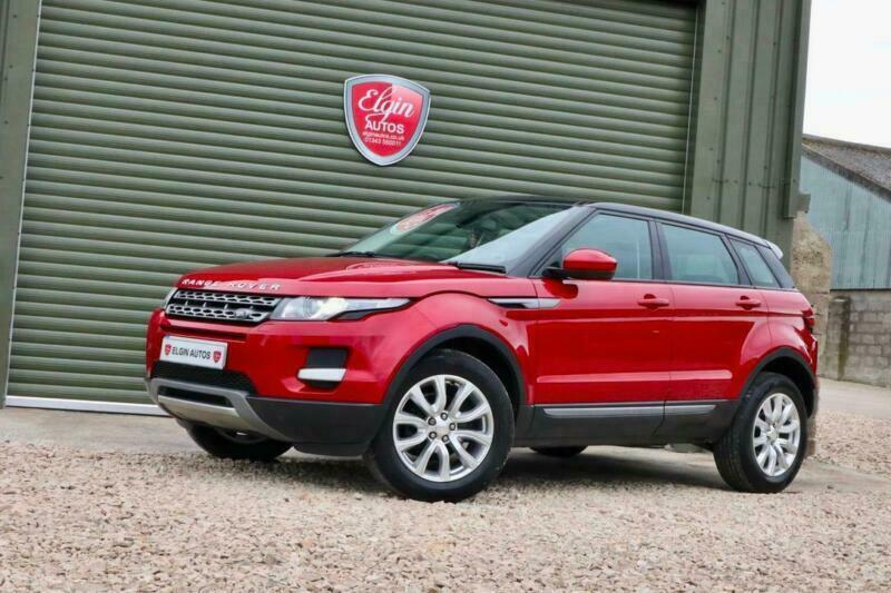 2014 Land Rover Range Rover Evoque Pure 2.2 SD4 Auto 5dr [9] [Tech Pack] ( 190 b