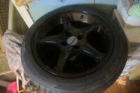 Set of 4 Coopers Tires with rims