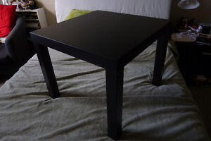 Ikea Lack side table in black/brown, $10 - pick-up only