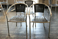 Used Restaurant Table and Chair Set