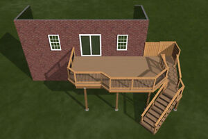 Privacy fences, beautiful decks and landscapes Windsor Region Ontario image 5