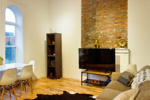 New Modern Flat, All Included, Furnished, Sept 1 or Oct 1