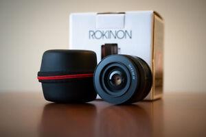Rokinon 35mm f/2.8 Ultra Compact Wide Angle Lens (Sony E-mount)