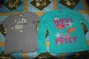 Girls Size 6-8 Various Clothes (T Shirts, Pants, Dress)