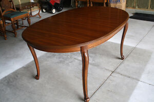 Speckled Oak Dining Table