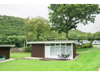 CHALET 2 BED WEST WALES LEASE FOR SALE ..Not static caravan