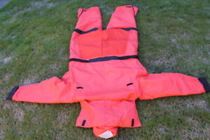 One Stearns Anti Exposure, cold water immersion survival Suite.