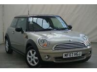2007 07 MINI HATCH COOPER 1.6 COOPER 3D 118 BHP - 7 SERVICE STAMPS - LONG MOT