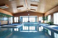 Cottage With Largest Private Indoor Pool In Canada. Sleeps 24+