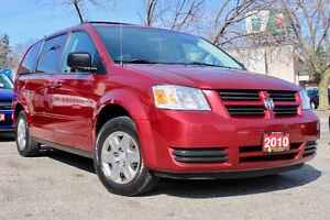 2010 DODGE CARAVAN SE STOW & GO - CERTIFIED - WARRANTY INCLUDED!