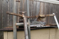Scaffolding brackets and posts