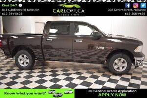 2017 RAM 1500 SLT CREW 4X4 DIESEL-CRUISE*BLUETOOTH*BACKUP CAM