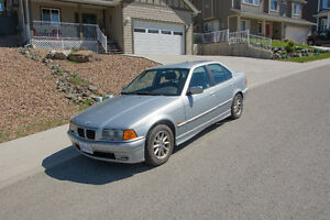1997 BMW 328i - With Winter Tires on Rims