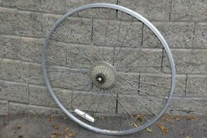 Rear bike wheel 700c - with quick release
