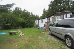 2 BEDROOM MOBILE HOME-WHITEFISH-NEAR SUDBURY & LIVELY-NOW OR NOV