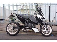Ktm 690 duke r black & white 2008 CLEAN!