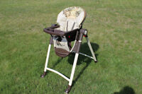 Graco adjustable high chair in great condition1