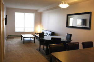 Fully furnished 774 sq ft 1 bedroom condo at Eagle Ridge