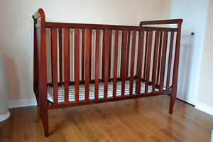 Crib, dresser and change table