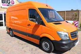 2016 MERCEDES SPRINTER 313 CDI 129 MWB HIGH ROOF MOBILE TYRE FITTING VAN MWB DIE