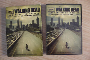 The Walking Dead complete first season on DVD