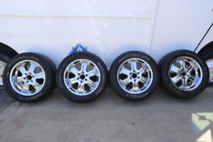 6x135 Mags & Tires 275/55/R20